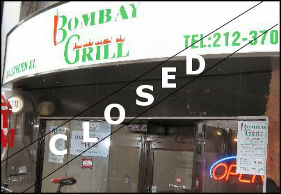 Bombay Grill NYC