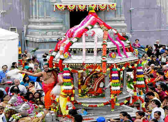 Ganesh Festival NYC., Picture Courtesy: Flushing Ganesh Temple