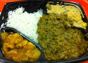 indus express vege combo meal