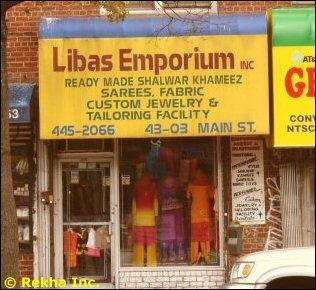 indian saree stores in flushing
