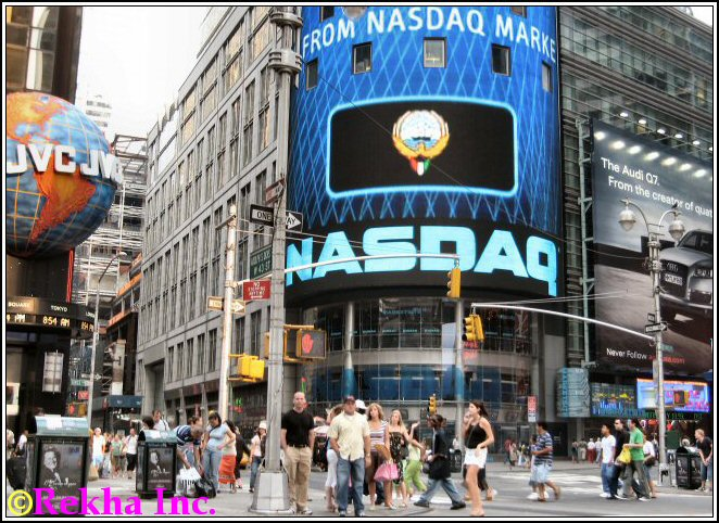 nasdaq - © NYIndia.us and Rekha Inc.