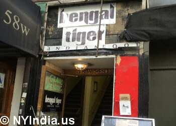 Bengal Tiger Indian Food nyc