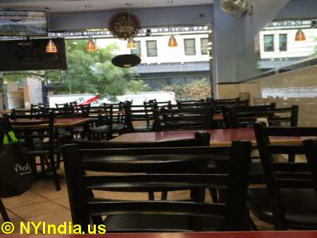 Chandni Restaurant NYC © nyindia.us