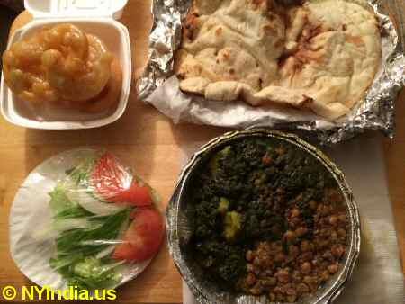 Cuisine of Pakistan Veg Platter © nyindia.us