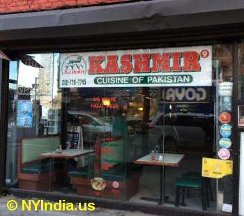 Indian Restaurants Midtown West Nyc