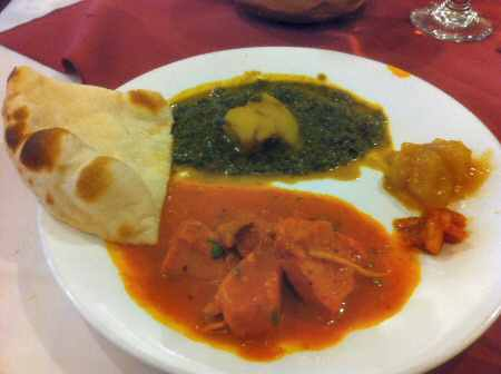 Curry Dream NYC Chicken Tikka Masala © nyindia.us