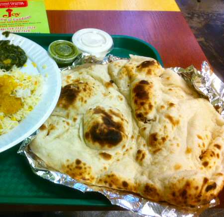 Joy Curry & Tandoor NYC Nan Bread © nyindia.us