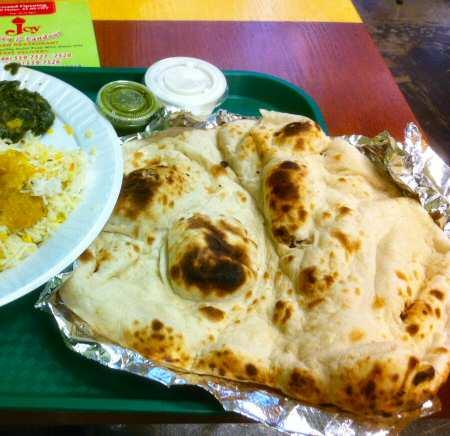 Joy Curry & Tandoor NYC Nan Bread © nyindia.us