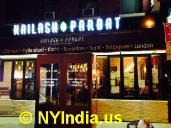Kailash Parbat NYC