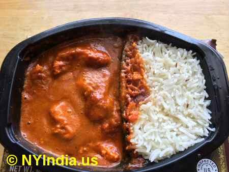 Trader Joe's NYC Chicken Tikka Masala  image © NYIndia.us