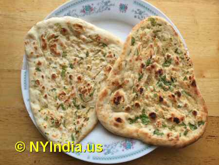 Trader Joe's NYC Garlic Naan image © NYIndia.us