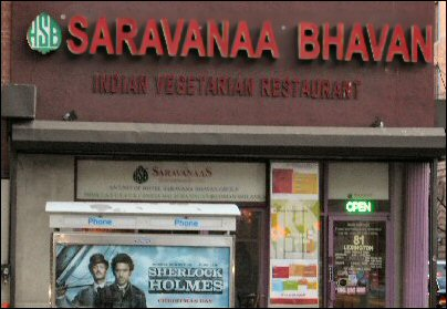 Saravanaa Bhavan Lexington Avenue