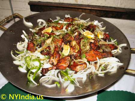 Tandoori Chicken at Indian Buffet
